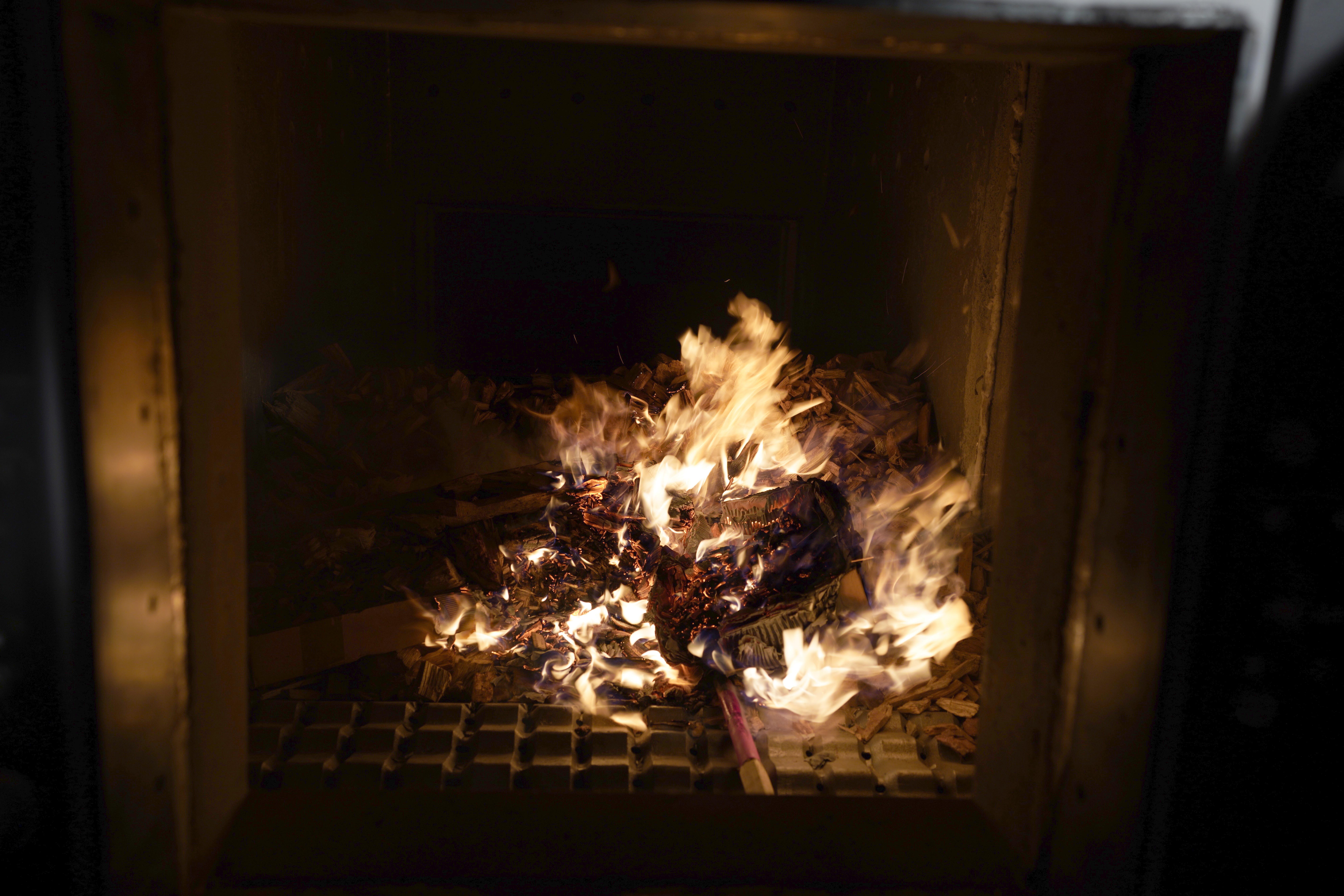 Feuer Brennkammer