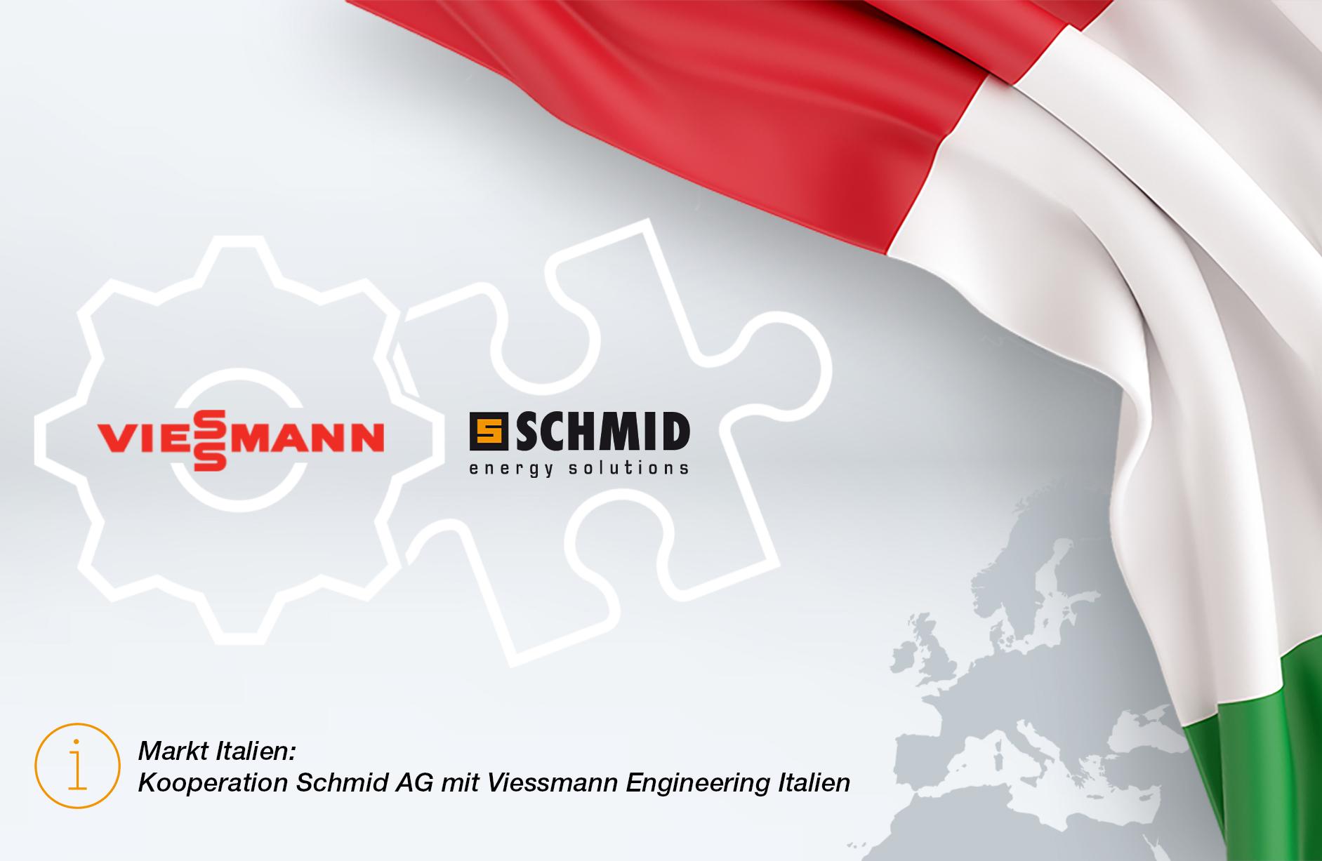 Kooperation Viessmann und Schmid